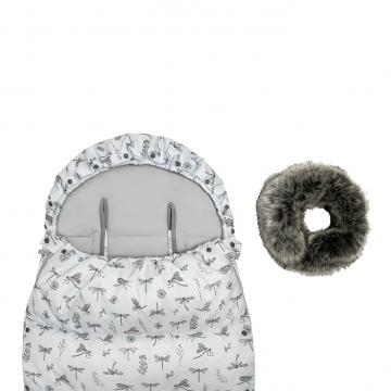 Śpiworek zimowy SNØ 0-24 mcy Bambinka