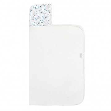 Bamboo hooded towel Stars - Cream