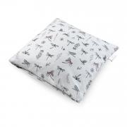 Bamboo cushion cover - Dragonflies