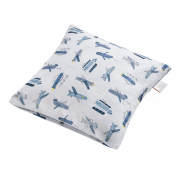 Bamboo cushion cover - Happy planes