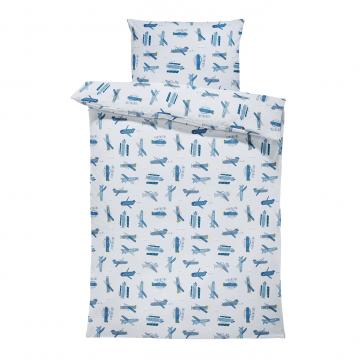 Bamboo bedding cover set L Paradise feathers