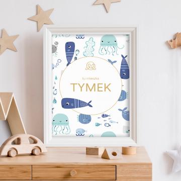 Plakat z imieniem - Fiszki