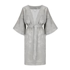 Bamboo kimono dressing gown - Swallows