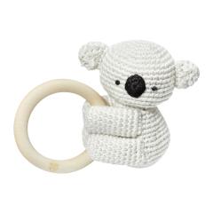 Rattle-teether Koala - cream
