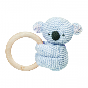 Rattle-teether Koala - mint