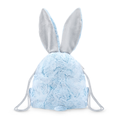 Bunny backpack - Baby blue