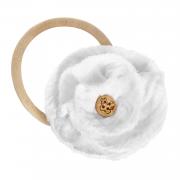 Headband Flower Cream