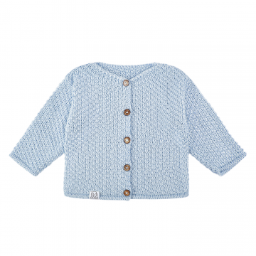 Bamboo sweater - light blue
