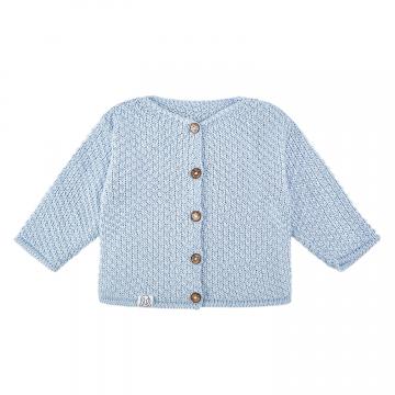 Sweterek bambusowy - błękit