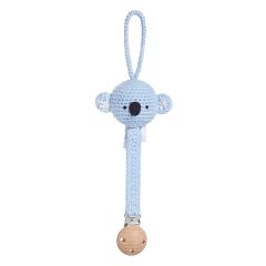 Pacifier clip Mam Koala - light blue