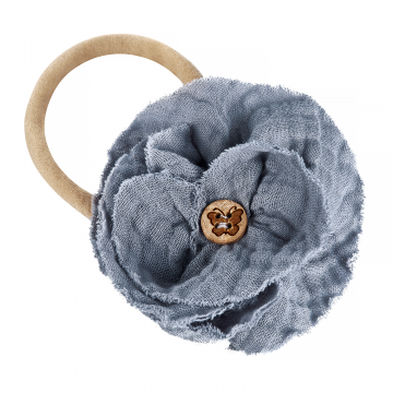Headband Flower Grey