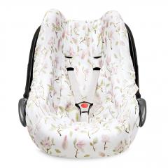 Bamboo car seat cover - Magnolia
