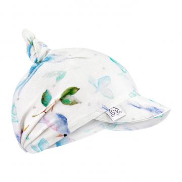 Bamboo visor scarf - Heavenly birds