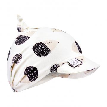 Bamboo visor scarf - Hedgehogs boys