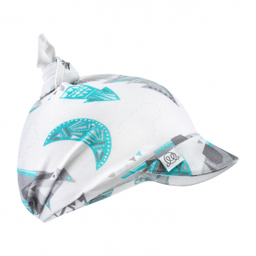 Bamboo visor scarf tied - Wolves