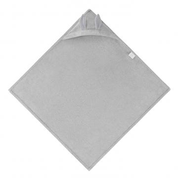 Bamboo towel Bunny - light grey