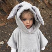 Bamboo towel Bunny - beige