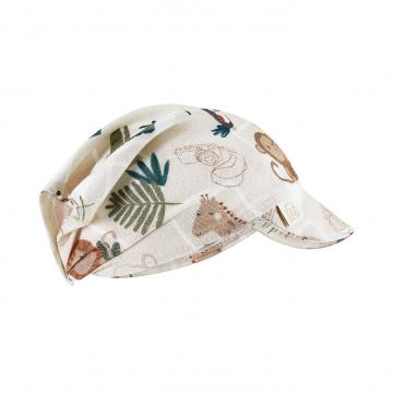 Bamboo visor scarf - Stones beige