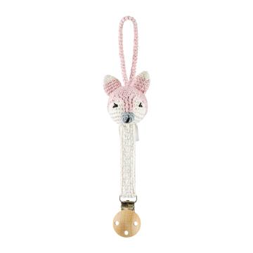 Pacifier clip Mam Fox - dusty pink