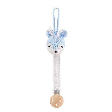 Pacifier clip Mam Deer - light blue