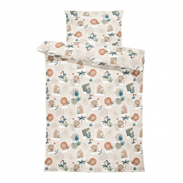Bamboo bedding set with filling XS Paradise birds