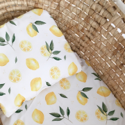 Bamboo baby pillow Paradise feathers