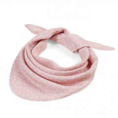Triangle bamboo scarf - Stones pink