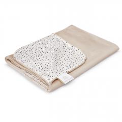 Light bamboo blanket - Stones beige - beige