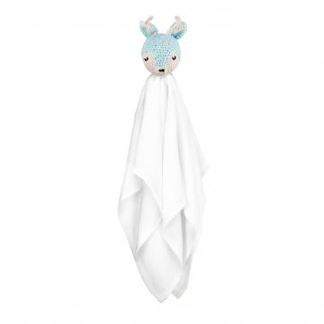 Snuggle toy Deer -  mint
