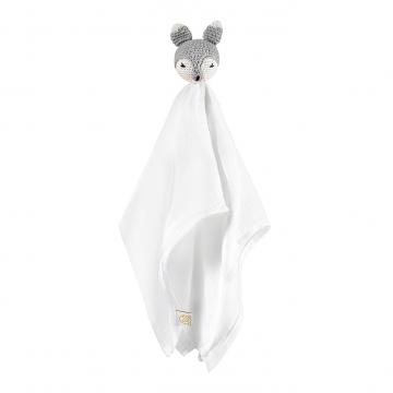 Snuggle toy Fox -  grey