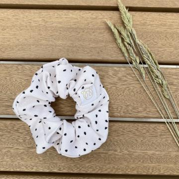 Gumka scrunchie bambusowa Aleja gwiazd