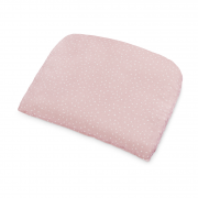 Bamboo baby pillow - Stones pink