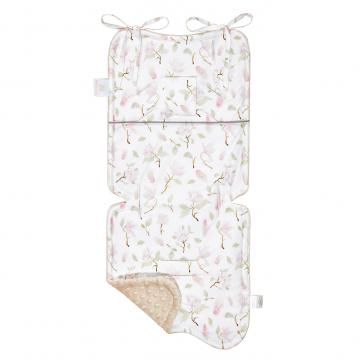 Bamboo stroller pad - Magnolia