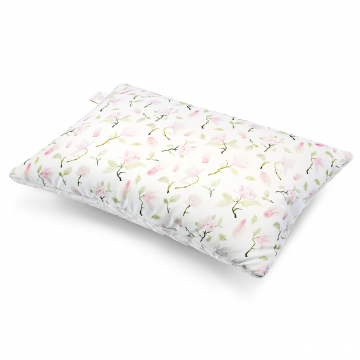 Luxe fluffy pillow Heavenly birds Grey