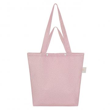 Tote bag - Stones pink