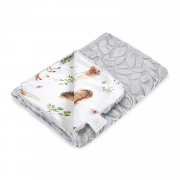 Light bamboo blanket Luxe - Fawns - grey