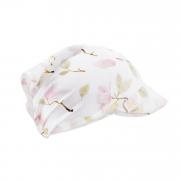 Bamboo visor scarf with elastic - Magnolia