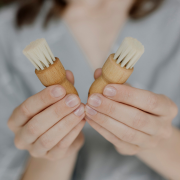 Face and mask brush