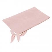 Summer bamboo blanket - Stones pink