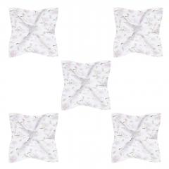 Bamboo squares mini 25x25 5-pack - Magnolia