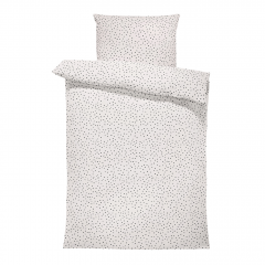 Bamboo bedding with filling - Stones beige