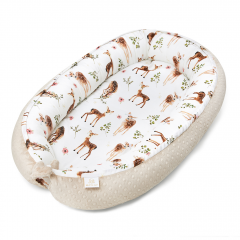 Bamboo baby nest - Fawns - beige