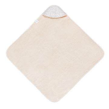 Ręcznik bambusowy niemowlaka Rajskie piórka Śmietanka