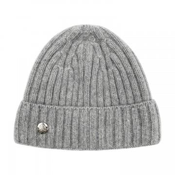 Cashmere hat - grey