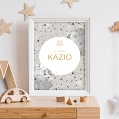 Personalized name poster - by Maffashion