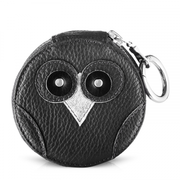 IDA purse owl Black