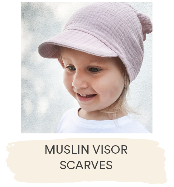 MUSLIN VISOR SCARVES