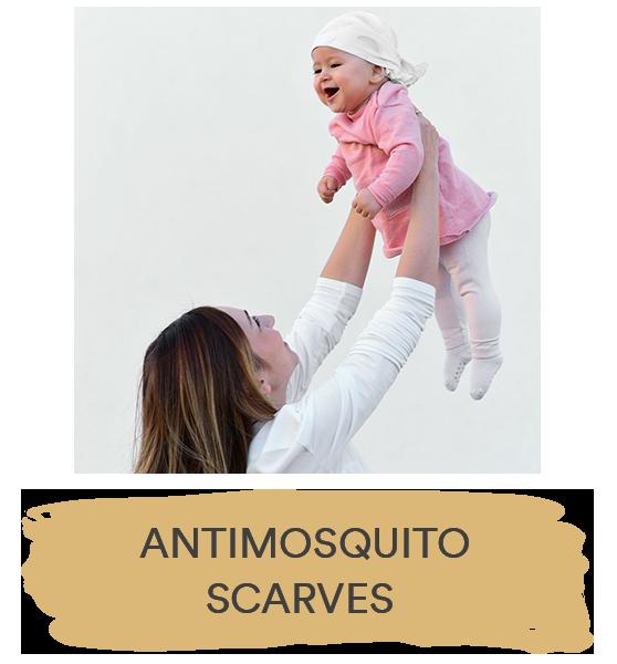 ANTIMOSQUITO SCARVES