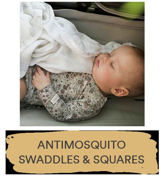 antimosquito swaddles squares