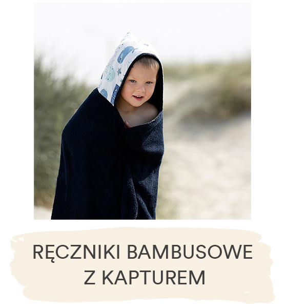 Ręczniki bambusowe z kapturem